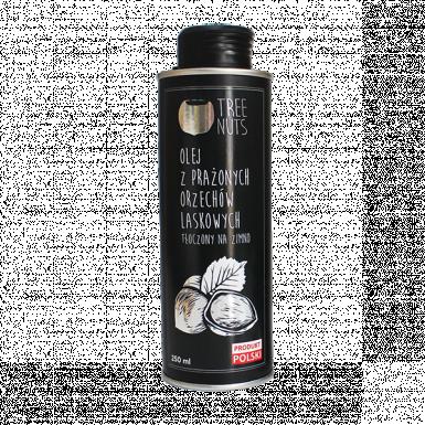 Roasted hazelnut oil 250ml black tin